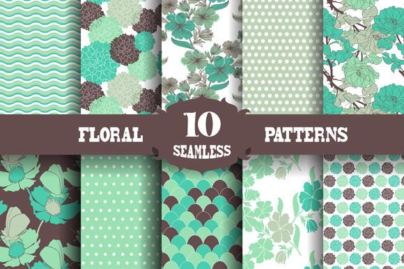 10 Floral Patterns