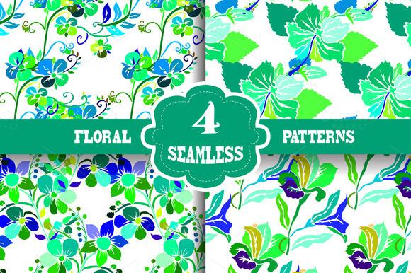 Vivid Floral Patterns