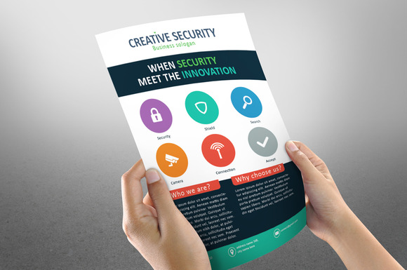Creative Corporate Security Flyer CS