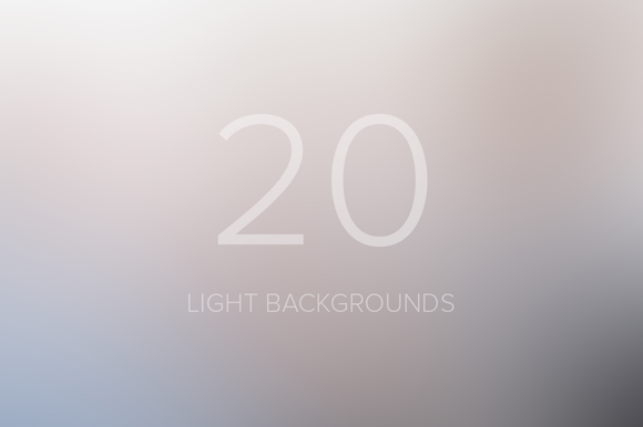 Light Blurred Backgrounds