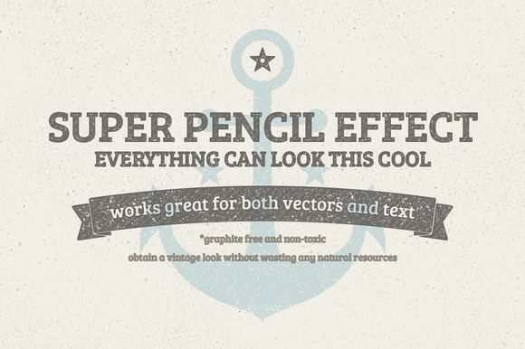 Pencil Text Effect Sketchy Effect