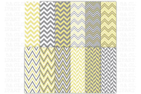 Chevron Digital Papers Pack