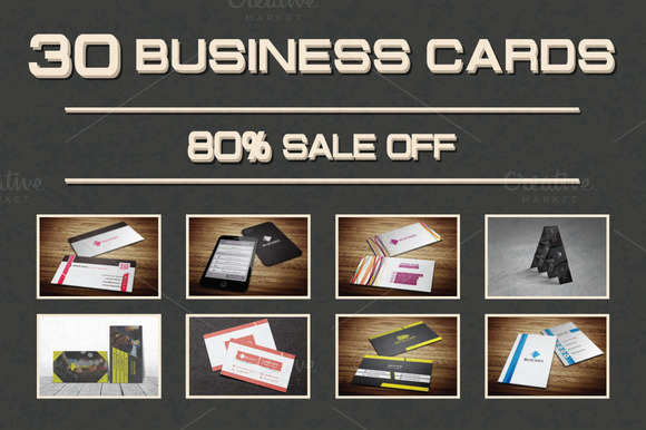 30 Unique Business Cards