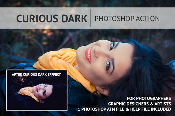 Curious Dark Photoshop Action