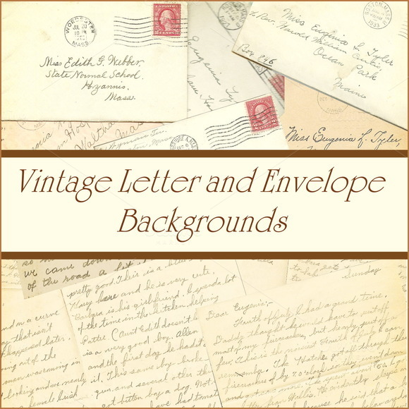 Vintage Letters And Envelopes