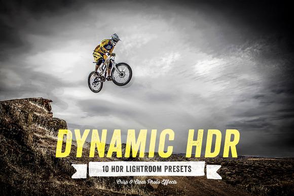 Dynamic HDR Lightroom Presets Vol 1