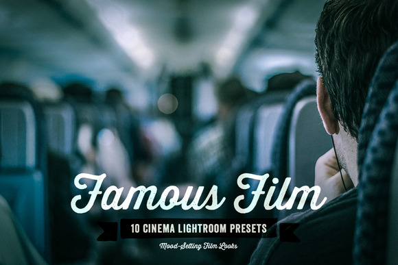 Famous Film Lightroom Presets Vol 1