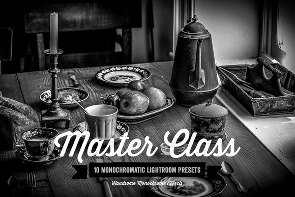 Master Class Lightroom Presets Vol 1