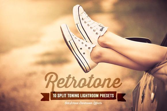 Retrotone Lightroom Presets Volume 1