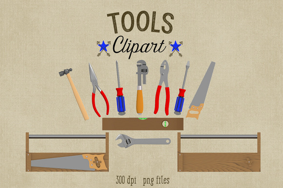 Tools Clipart-Commercial Use