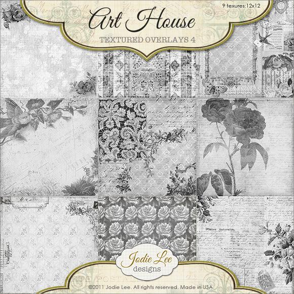 Art House Textured Overlays #4