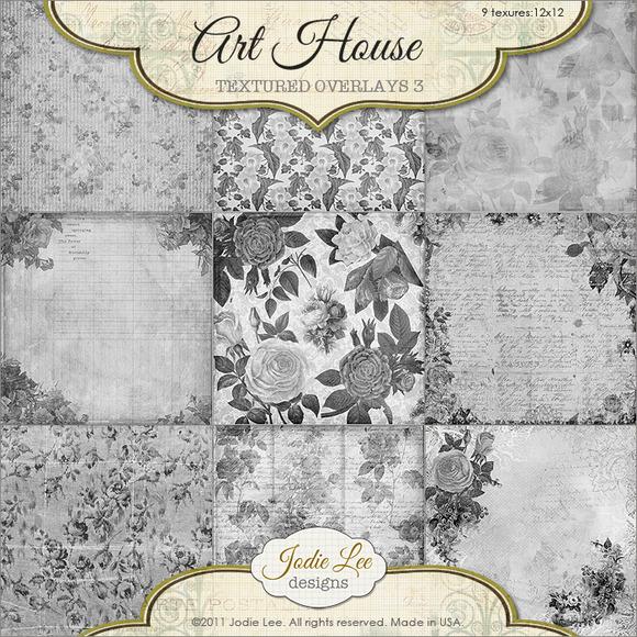 Art House Textured Overlays #3
