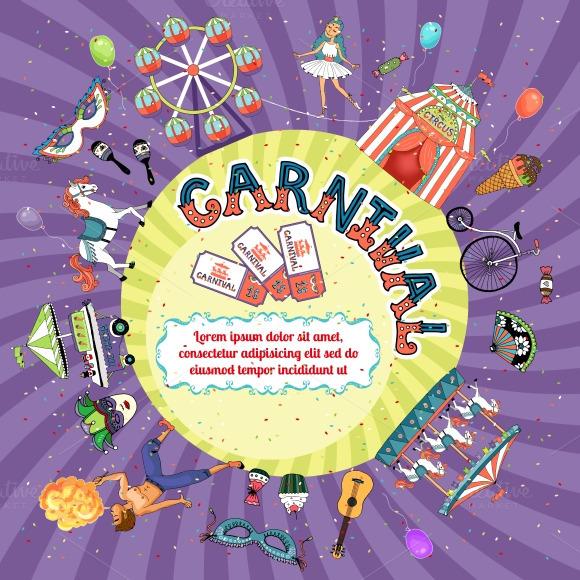 Carnival Invitation Design