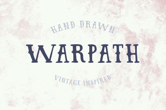 WARPATH Typeface