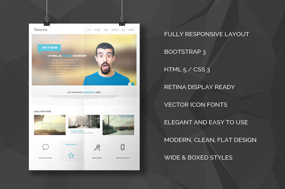 Source Responsive Bootstrap Theme