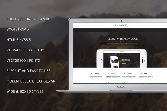 Catholicity Bootstrap 3.2 Site Theme