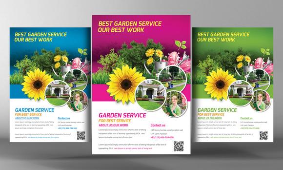 Garden Service Flyer Template
