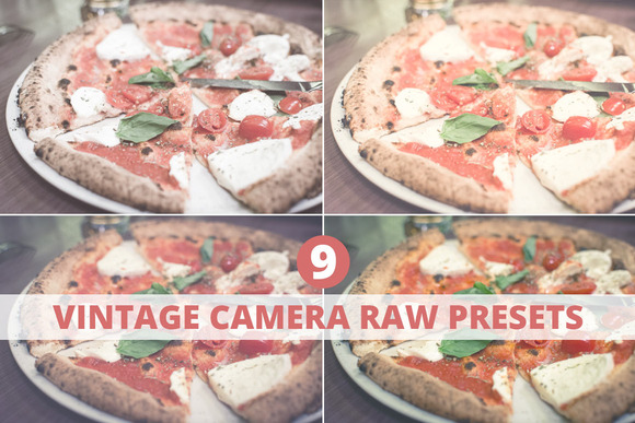 Photoshop Camera RAW Presets