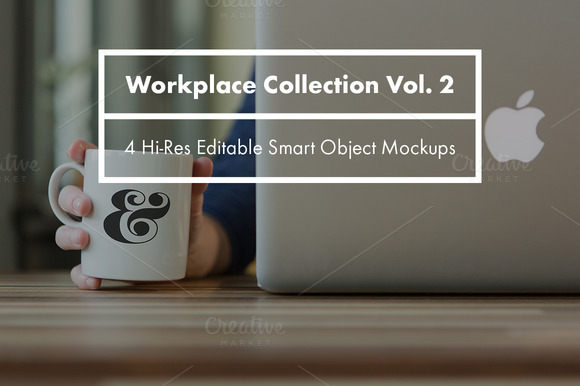Workplace Collection Mockups Vol 2