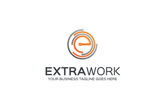 ExtraWork Logo Template