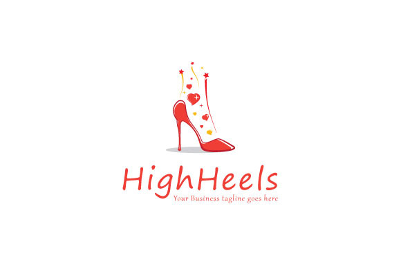 High-Heels Logo Template
