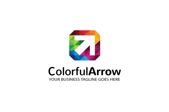 Colorful-Arrow Logo Template