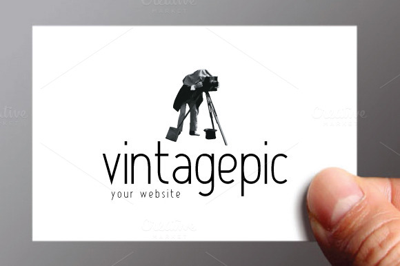 Vintage Photo Logo Template