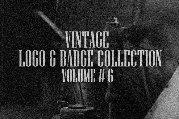 Vintage Logo Badge Vol 6