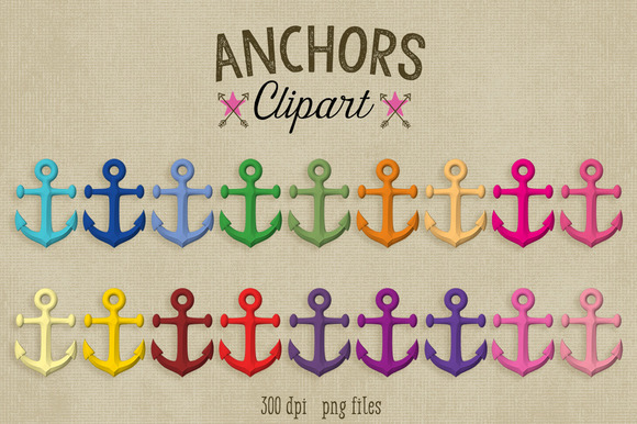 Anchor Clipart~Commercial Use