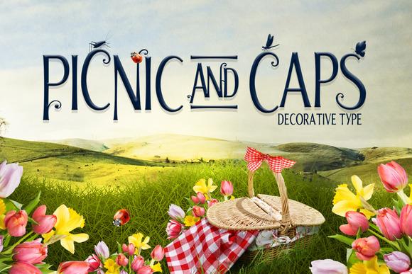 Picnic Caps Font