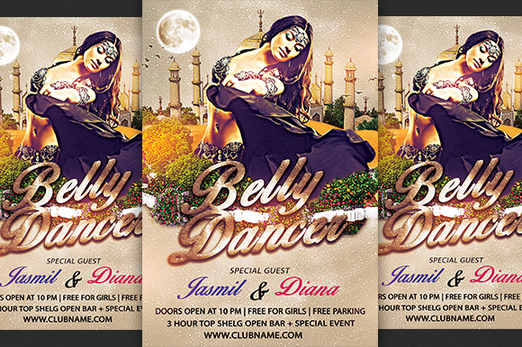 Belly Dancer Flyer