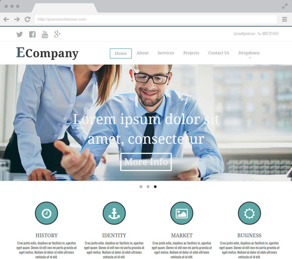 Ecompany Multipurpose HTML Template