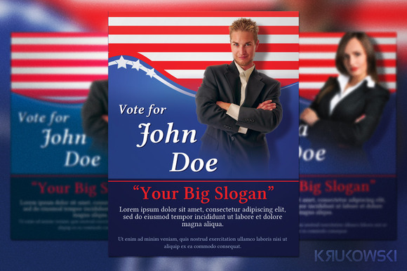Political Election Flyer