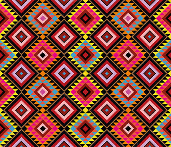 Native Pattern Seamless Background