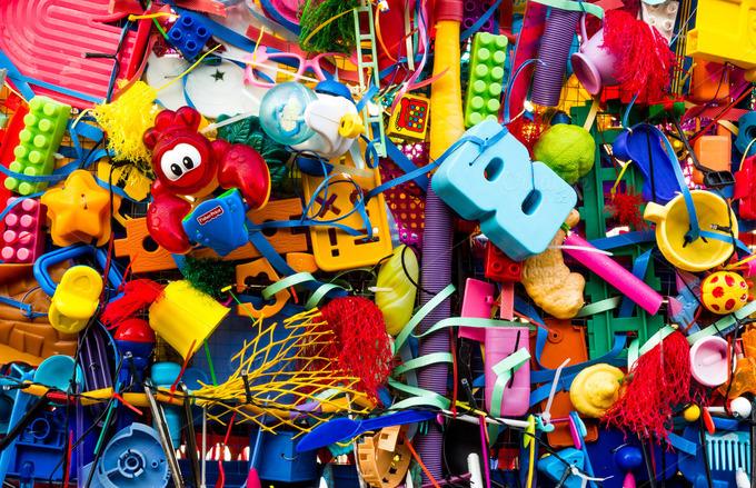 Fun Playful Toy Texture