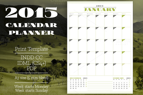 2015 Calendar Planner