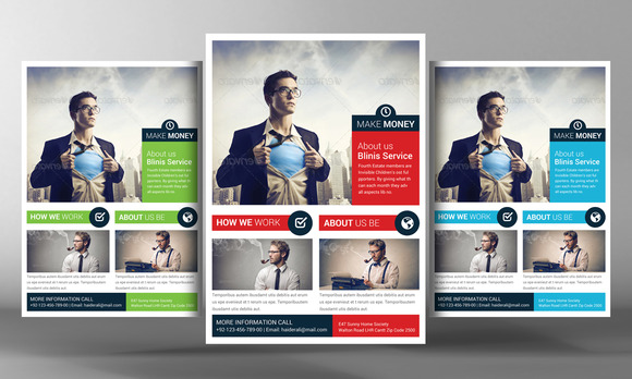 Make Money Flyer Template