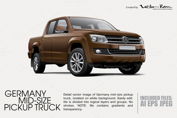 Germany Mid-size Pickup Truck