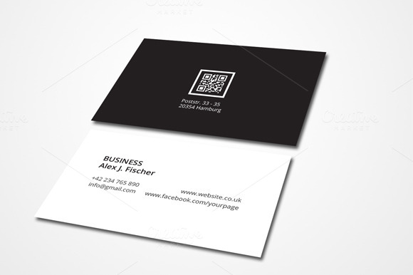 Super Minimal Business Card