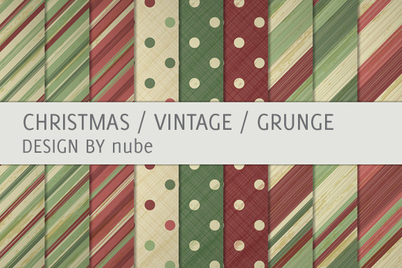 9 Vintage Christmas Backgrounds