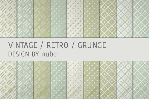 9 Vintage Retro Backgrounds