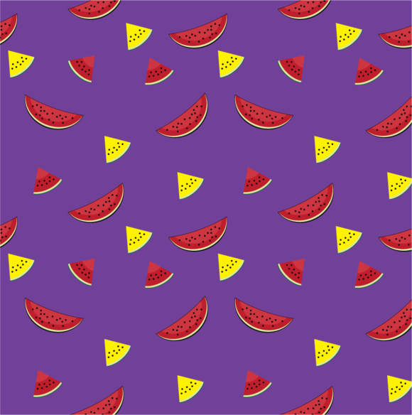 Pattern Watermelon Slices