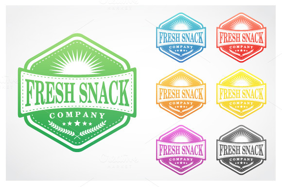Fresh Snack Badge