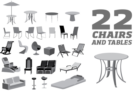 Furniture Chairs Tables And Objects