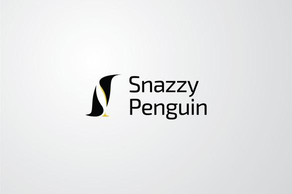 Snazzy Penguin Vector Logo