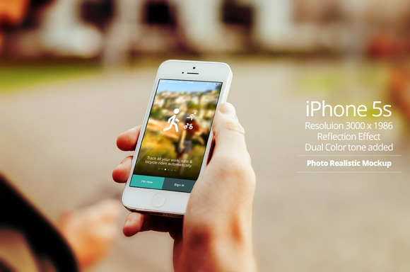 IPhone 5s Mockup 7