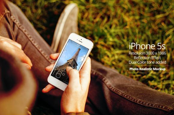 IPhone 5s Mockup 8