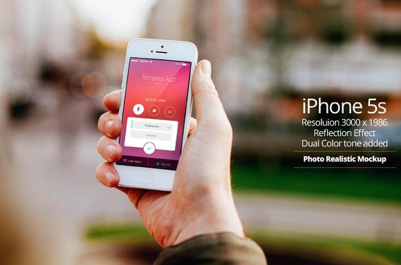 IPhone 5s Mockup 9
