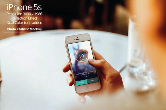 IPhone 5s Mockup 10