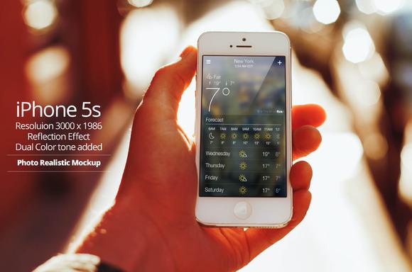 IPhone 5s Mockup 11
